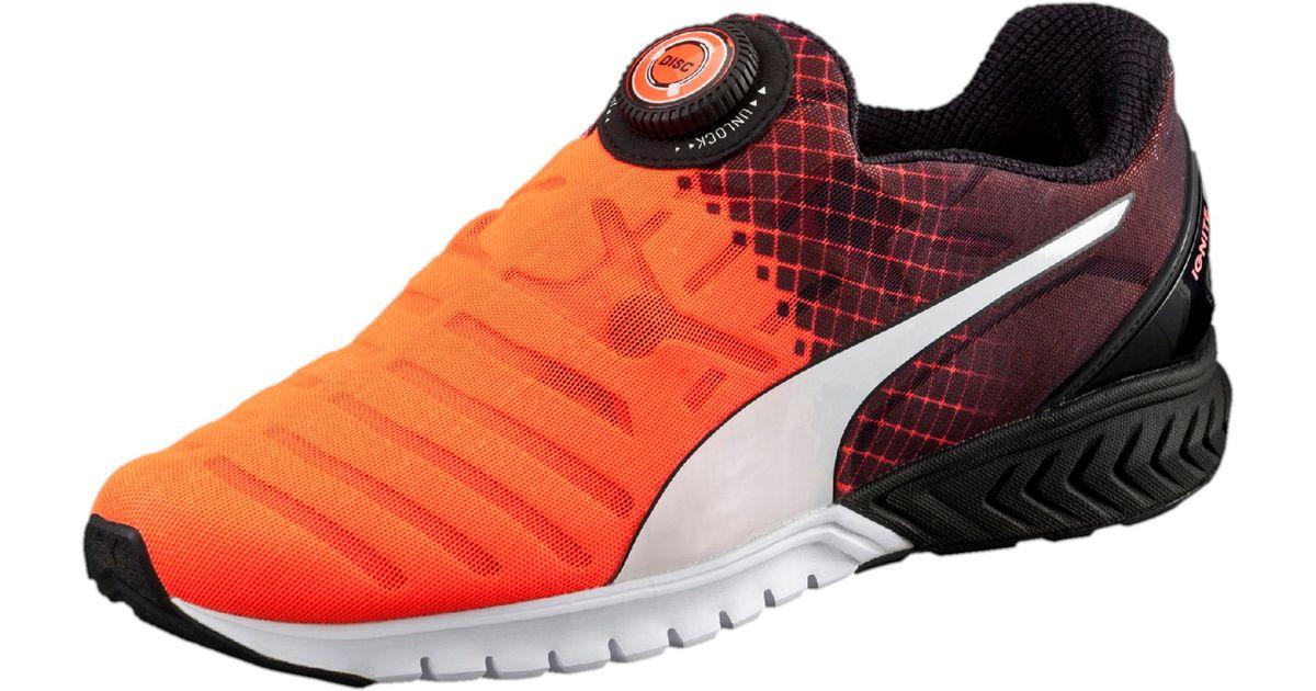 wholesale dealer a6e97 bf89e PUMA Ignite Dual Disc Men's Running Shoes for Men - Lyst
