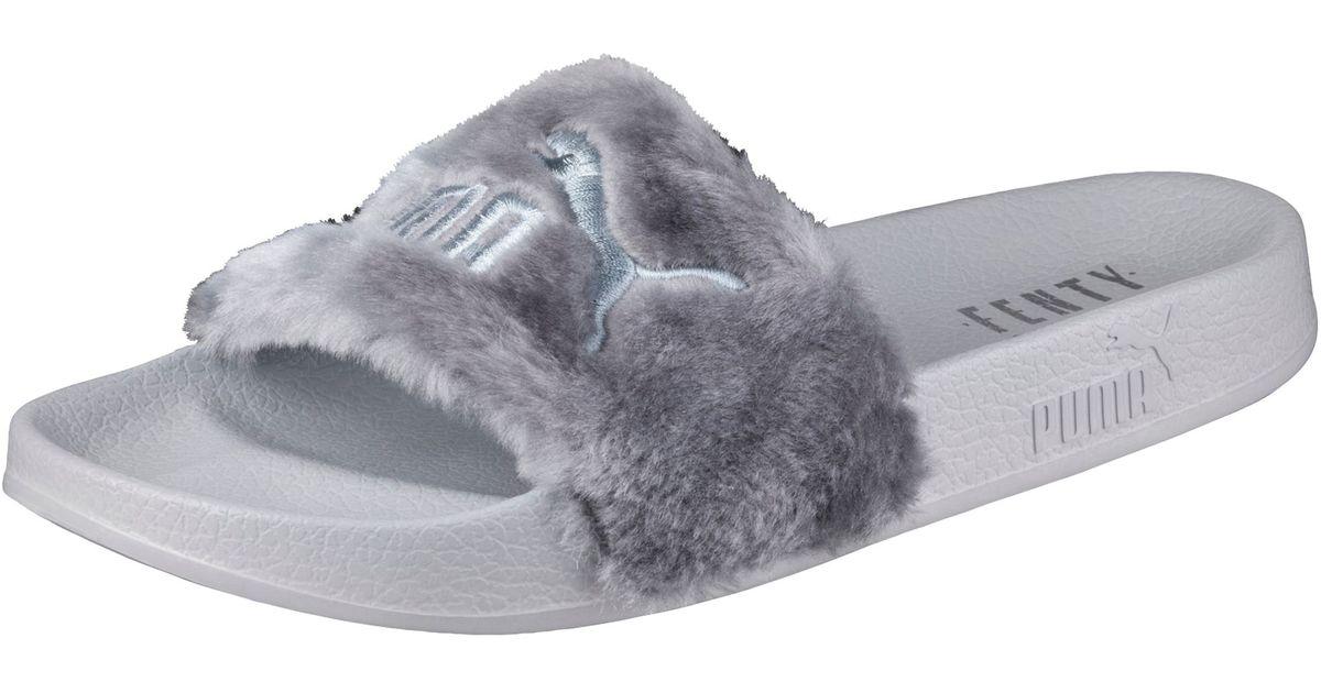 668309f84d47 Lyst - PUMA Fur Slide By Fenty Women s Sandals