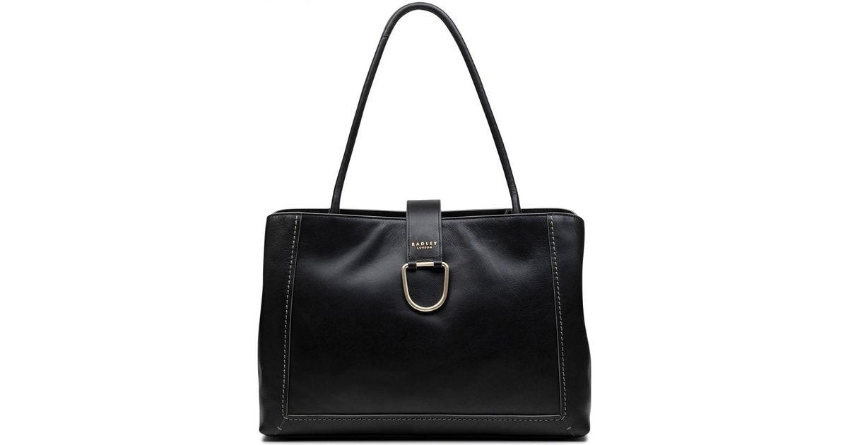 Radley Primrose Hill Large Workbag Tote Bag in Black - Lyst 33a2e5c5a