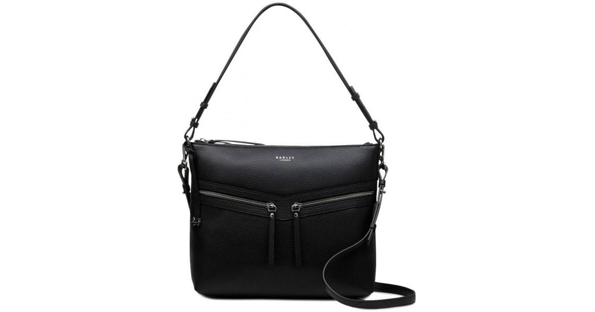 d1699dc69eb170 Radley Smith Street Medium Zip-top Multiway Shoulder Bag in Black - Save  20% - Lyst