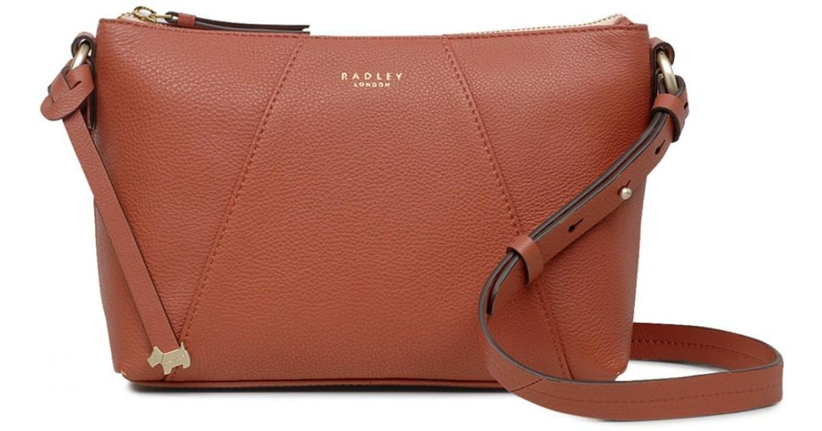 Radley Wood Street Medium Zip-top Cross Body Bag - Lyst 4c177bc964d06