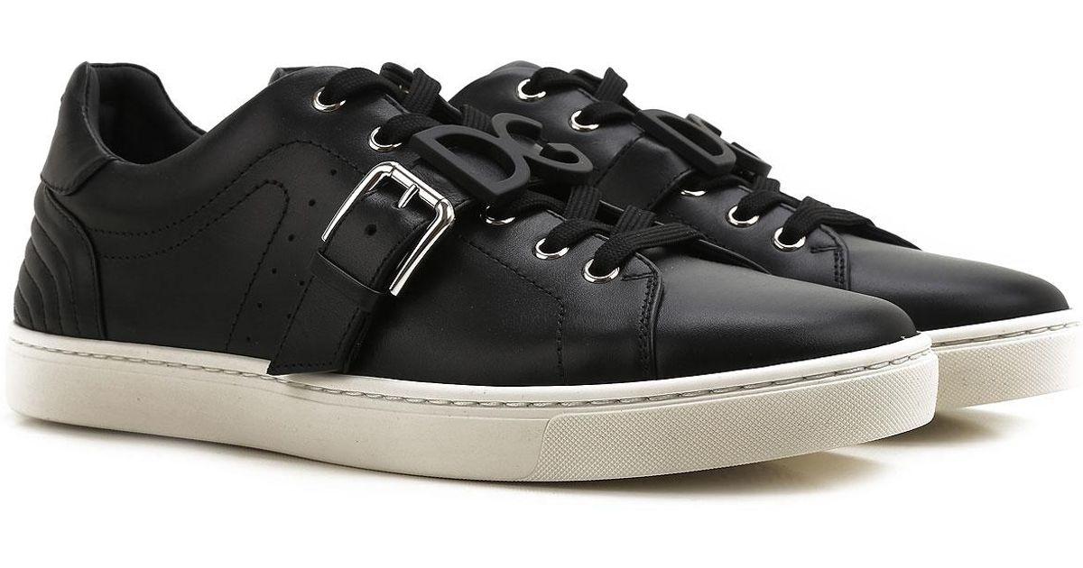 caaac3e9aa242 Lyst - Sneaker Homme Pas cher en Soldes Outlet Dolce   Gabbana pour homme  en coloris Noir