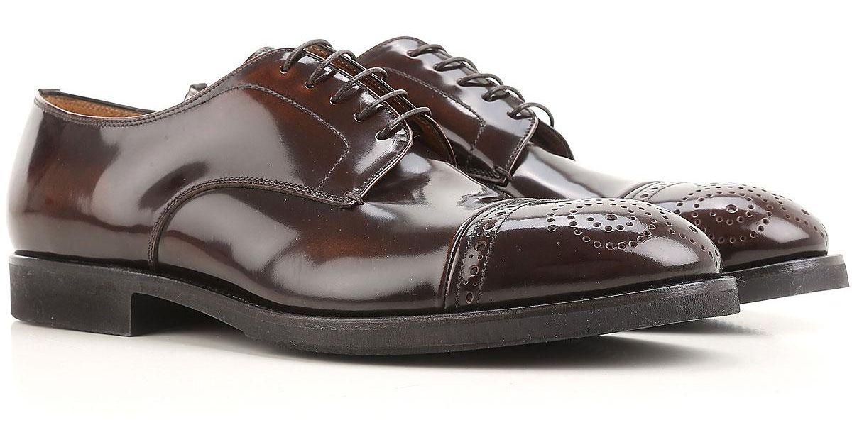 Shoes Shoes Oxfords in Lyst Men Men Premiata for For Men Up Brown Lace wq1qxR