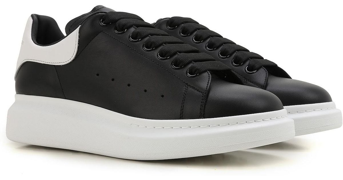 b3d36b1a65d8 Lyst - Alexander McQueen Sneakers For Men in Black for Men