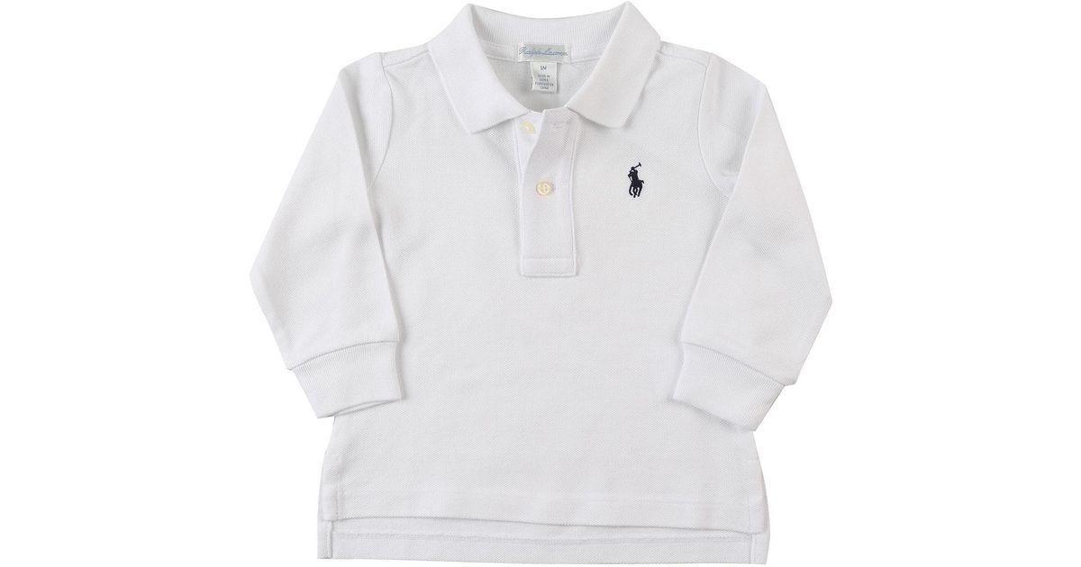 Lyst - Polo Bébé pour Garçon Pas cher en Soldes Ralph Lauren pour homme en  coloris Blanc b208d1a0cd0