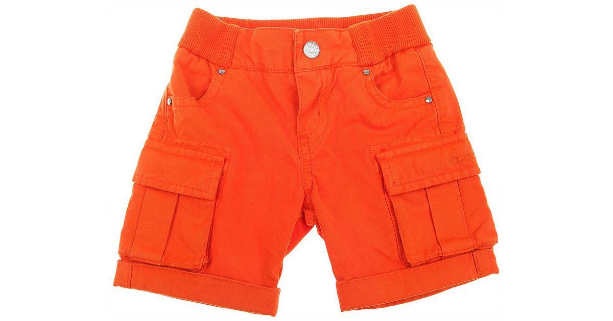 1f9256c39b073 Shorts Bébé pour Garçon Pas cher en Soldes Outlet Gucci pour homme en  coloris Orange - Lyst