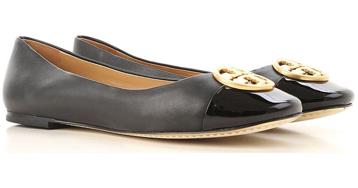 06d089d8f15 Lyst - Tory Burch Ballet Flats Ballerina Shoes For Women On Sale in Black