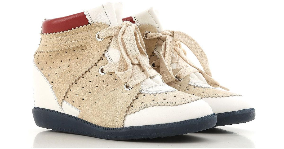 69c7ee3a4e7 Lyst - Isabel Marant Sneakers For Women On Sale in Natural