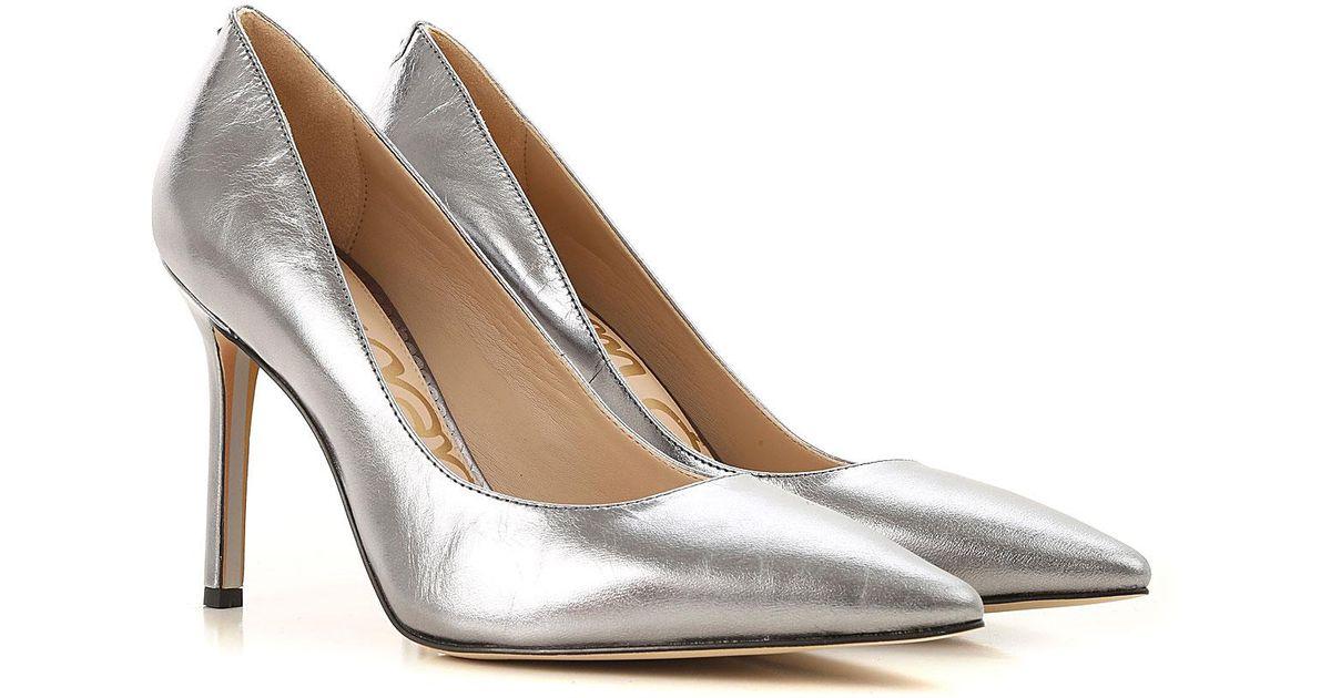 478f563db Lyst - Sam Edelman Pumps   High Heels For Women On Sale in Metallic
