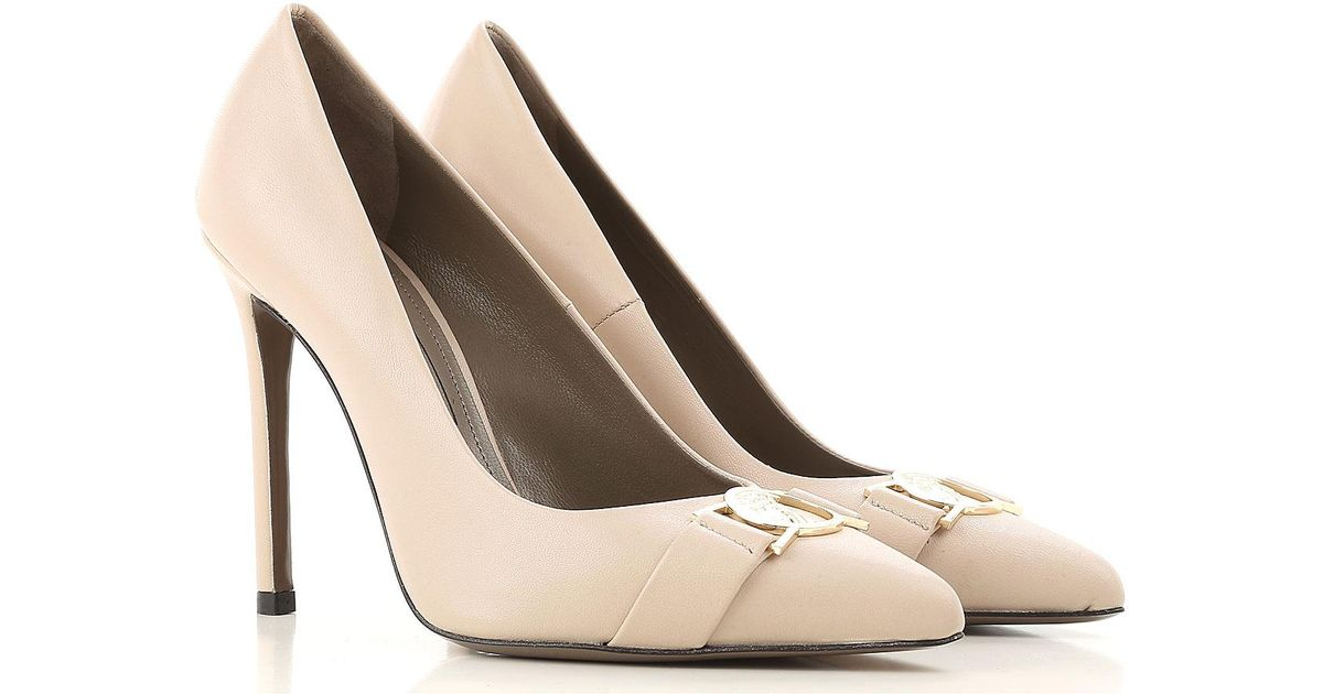 4c03fe8acce Lyst - Versace Shoes For Women in Natural