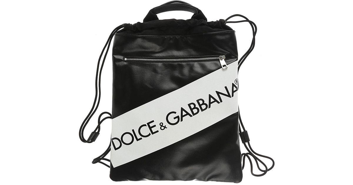 54f2ee7a023e2 Lyst - Sac à Dos Homme Pas cher en Soldes Dolce   Gabbana pour homme en  coloris Noir