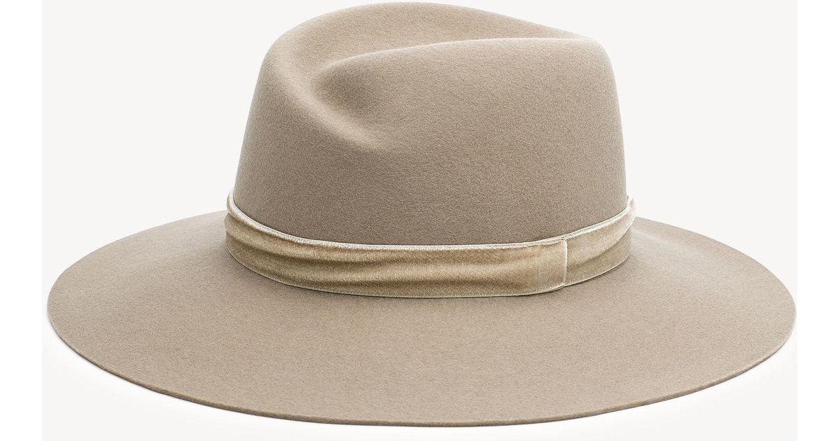 Lyst - Rag   Bone Zoe Wool Fedora Hat a6b3e307ca8