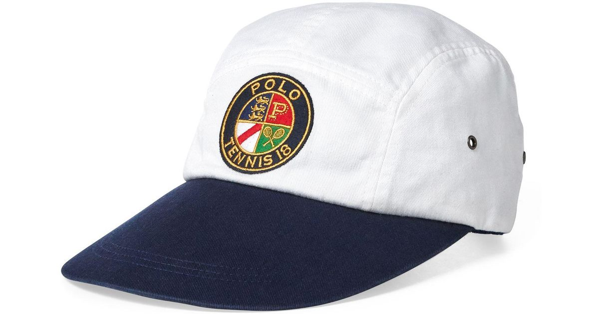4760974b08d80 Lyst - Polo Ralph Lauren Us Open Long-bill Cap in Blue for Men