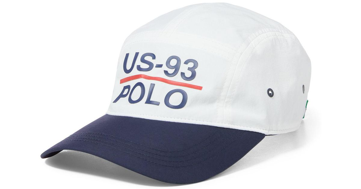 bb8ee77c21c9d Polo Ralph Lauren Cp-93 5-panel Nylon Cap in White for Men - Lyst