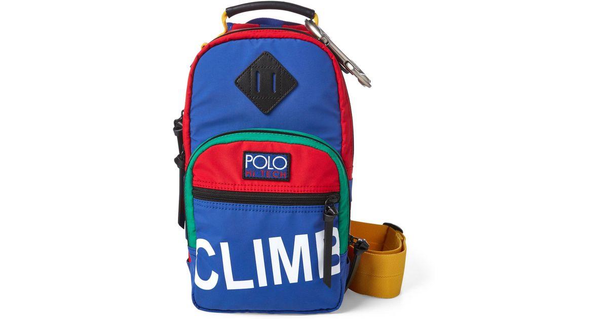 dbbb9867d9a2 Polo Ralph Lauren Hi Tech Sling Crossbody Bag for Men - Lyst