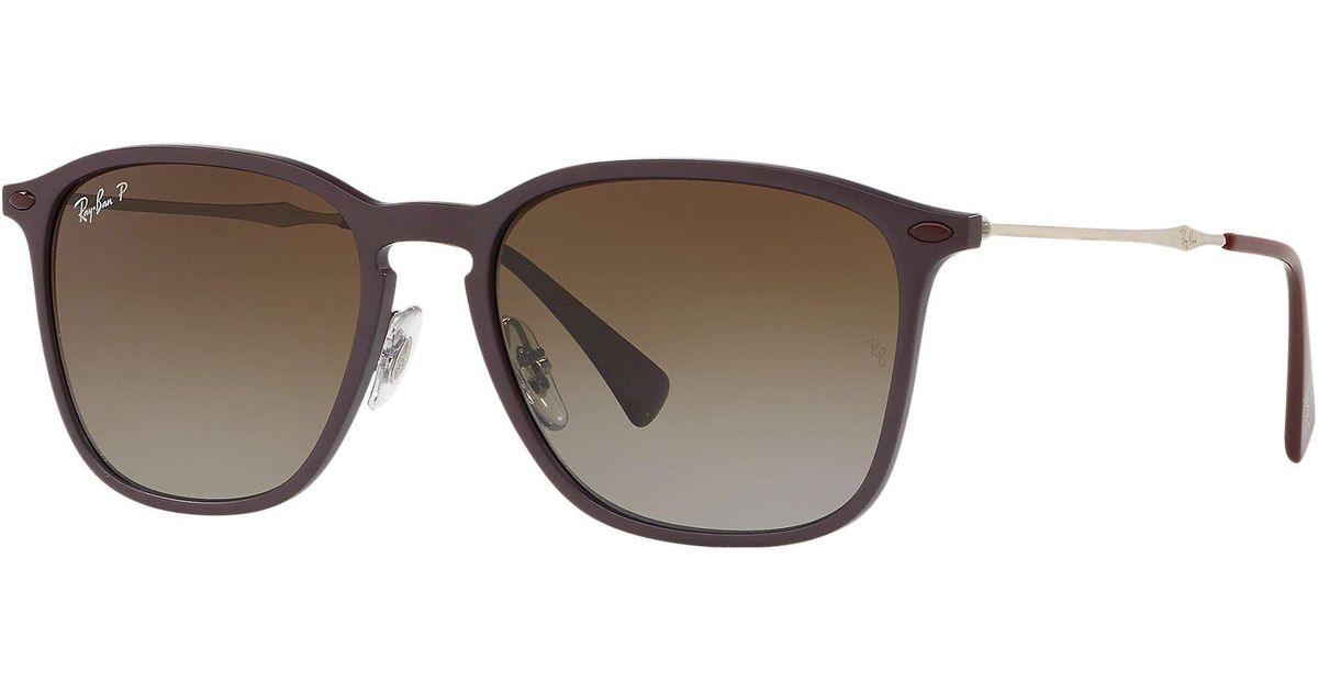 f719c102020 Ray-Ban Rb8353 in Brown for Men - Lyst