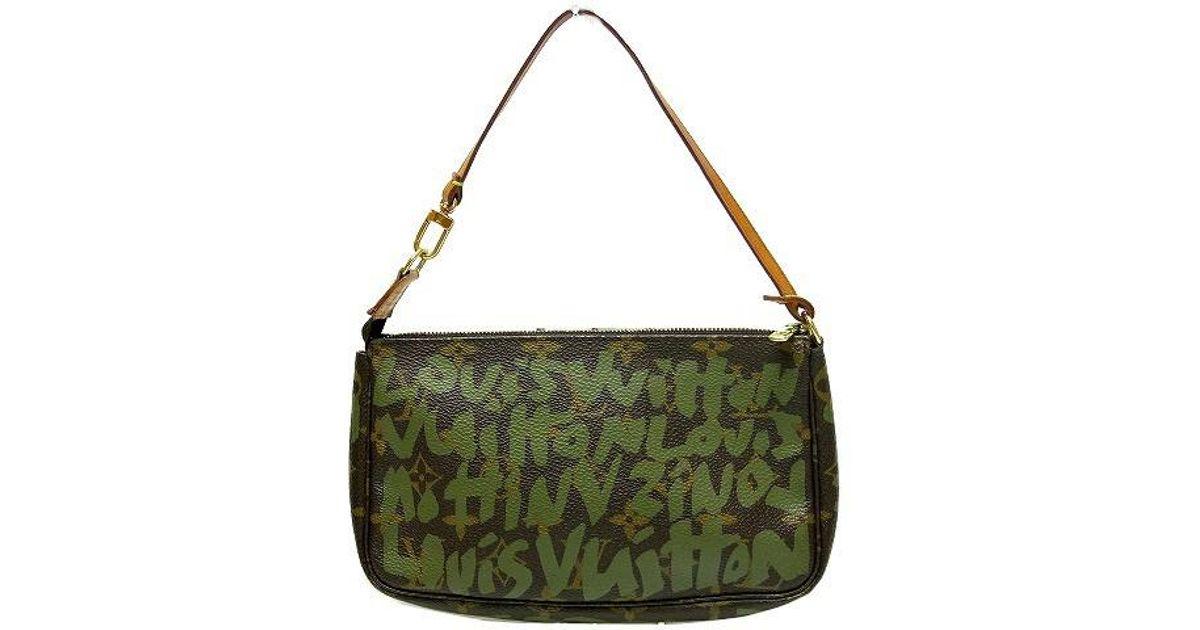 1ab86190c185 Louis Vuitton Authentic Monogram Hund Bag 0107 Ar0051 M92191 in Brown - Lyst