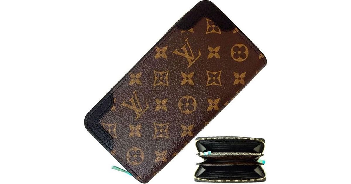 3b7296633453 Lyst - Louis Vuitton Zippy Wallet Retiro Monogram Black Large Zip Around  Wallet Women s Men s  new  in Black