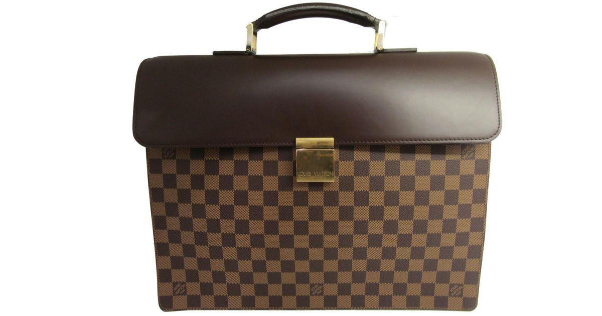 750c7a052249 Lyst - Louis Vuitton Auth Damier Altona Pm Briefcase Bussiness Bag N53315  Vintage in Brown for Men