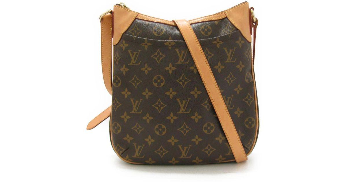 c2d878a4261 Louis Vuitton - Brown Odeon Pm Monogram Canvas M56390 - Lyst