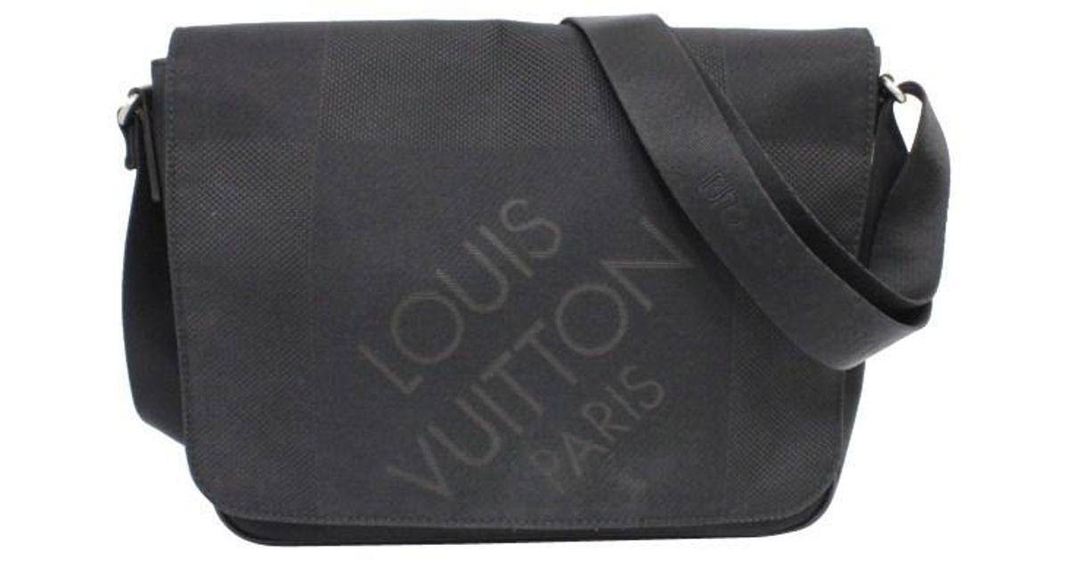 64269ad099a Lyst - Louis Vuitton    Petit Message   Shoulder Bag   M93618 in Black