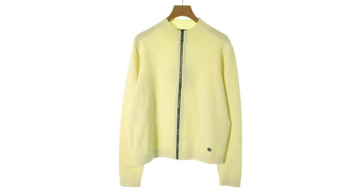 62edaef1f37 Lyst - Louis Vuitton Knit Cardigan Yellow L in Yellow