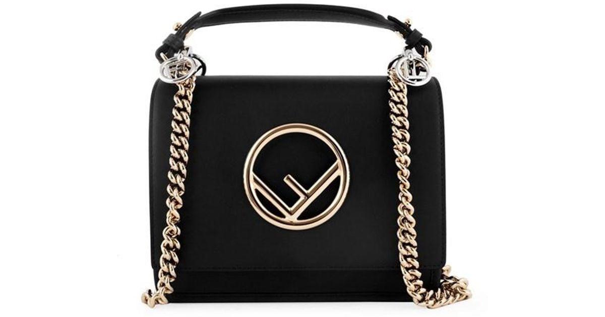 31cdbac092 Lyst - Fendi Shoulder Bags F0gxn Nero palladio in Black