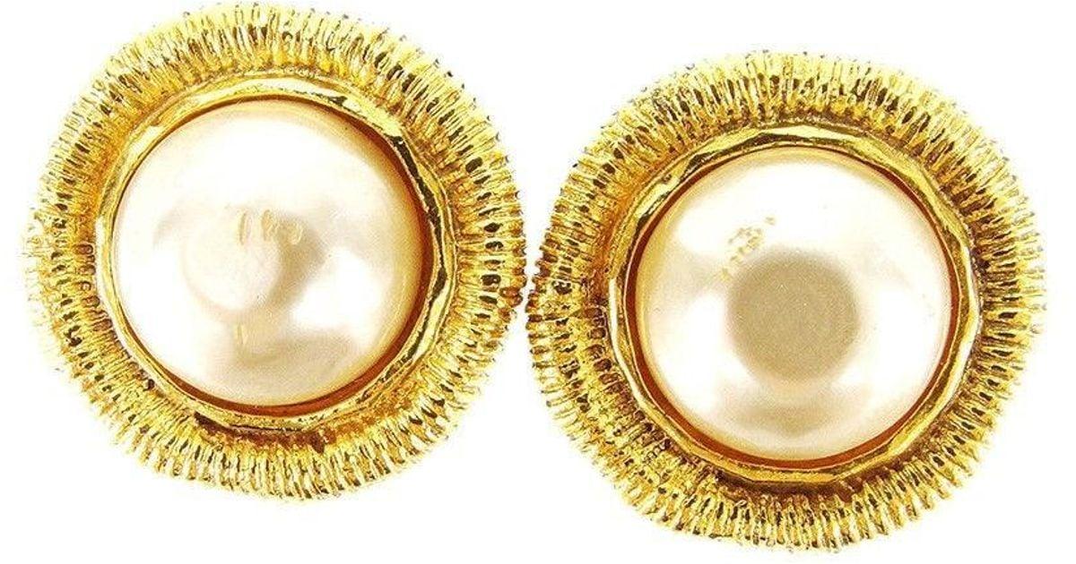 2341da63 Chanel Earrings Fake Real - Image Of Earring