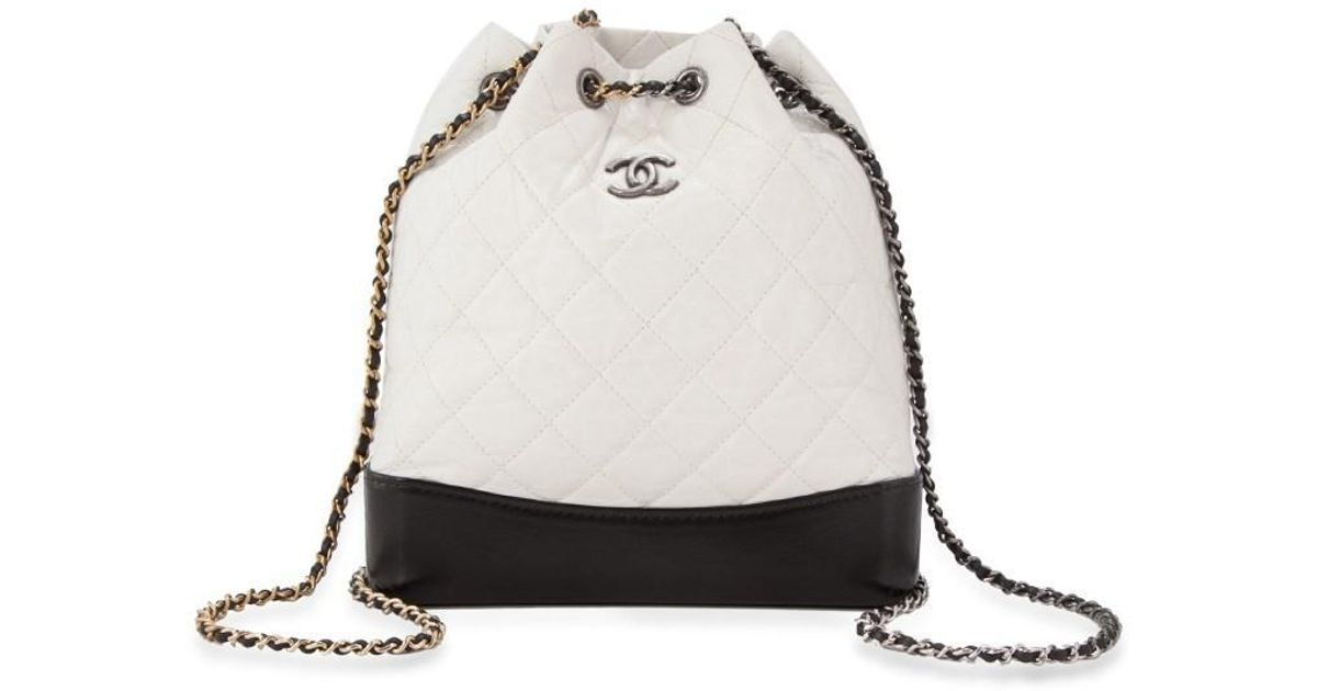 961b82e8cd1d Chanel Pre-owned Gabrielle Backpack in Black - Lyst