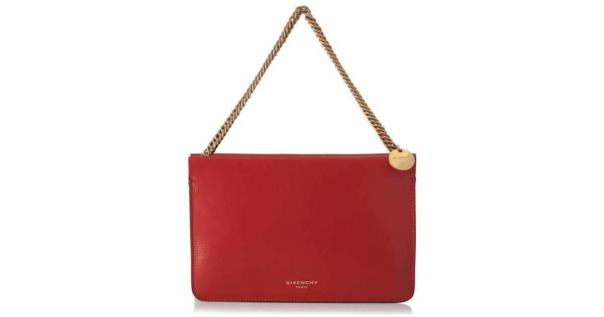 b531140423 Lyst - Givenchy Cross-3 Crossbody Bag in Red