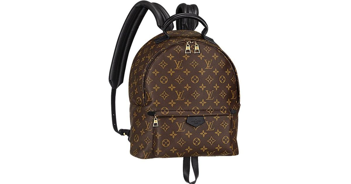 19e33410c5f7 Lyst - Louis Vuitton Palm Springs Backpack Mm Monogram M41561  new  in Black