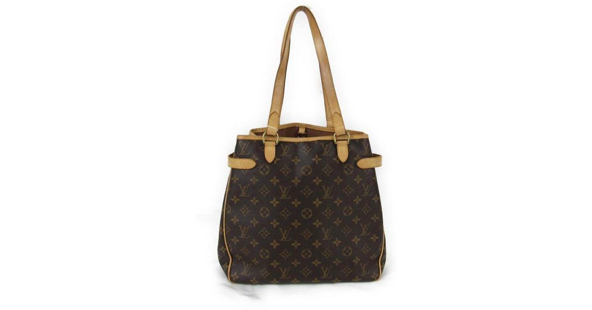 309aa57d1a61 Lyst - Louis Vuitton Batignolles Vertical Tote Bag Monogram Canvas M51153  in Brown