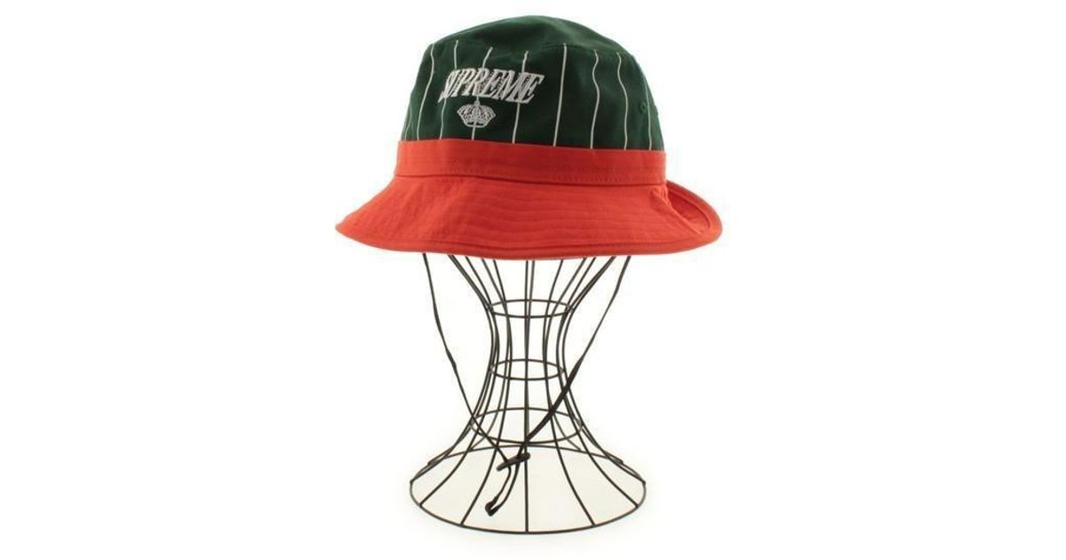 168a12f107198 Lyst - Supreme Hat Green S m in Green for Men