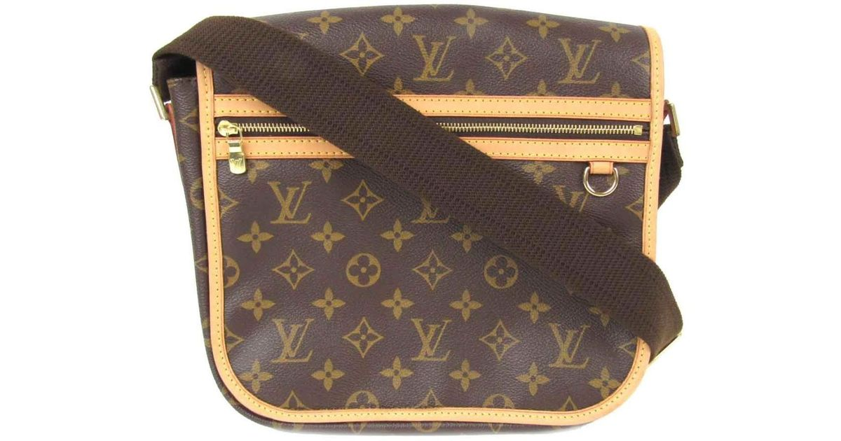 d88ceb5be839 Lyst - Louis Vuitton Messenger Boss Fall Pm Cross Body Shoulder Bag M40106  Monogram in Brown