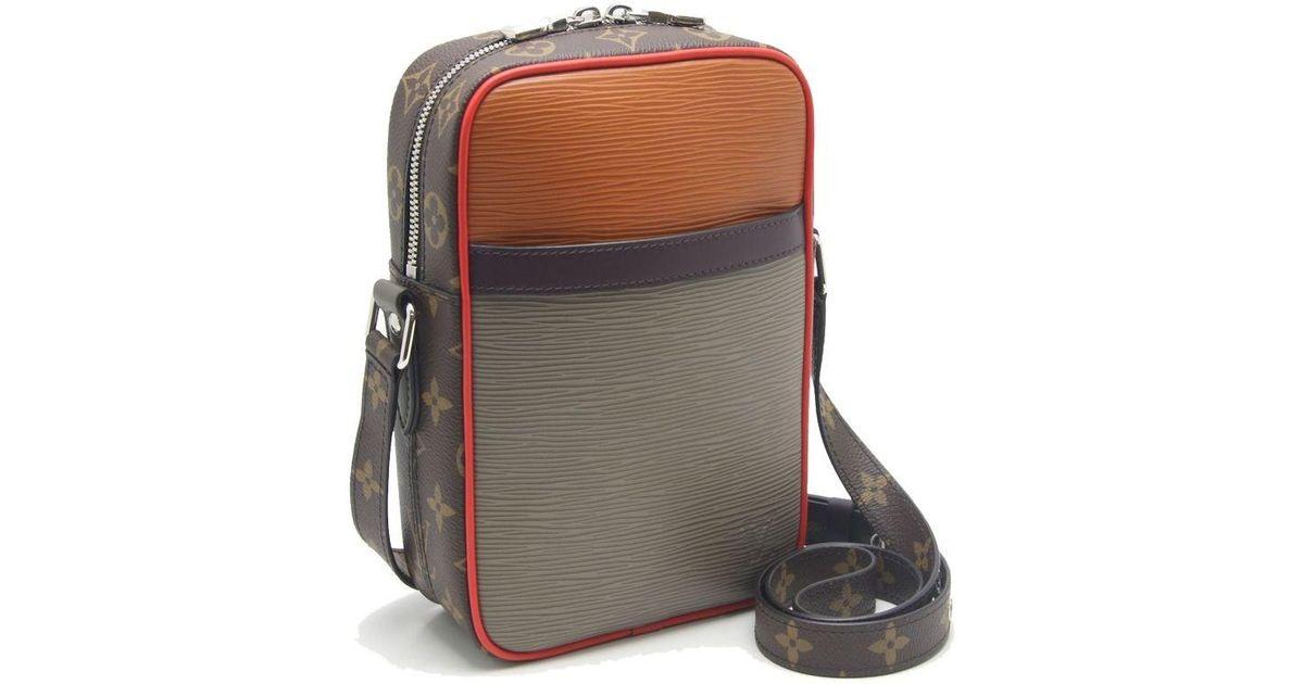 2802bbf9c7832 Louis Vuitton Epi X Monogram Danube Pm Shoulder Bag M53423  59208 in  Natural - Lyst