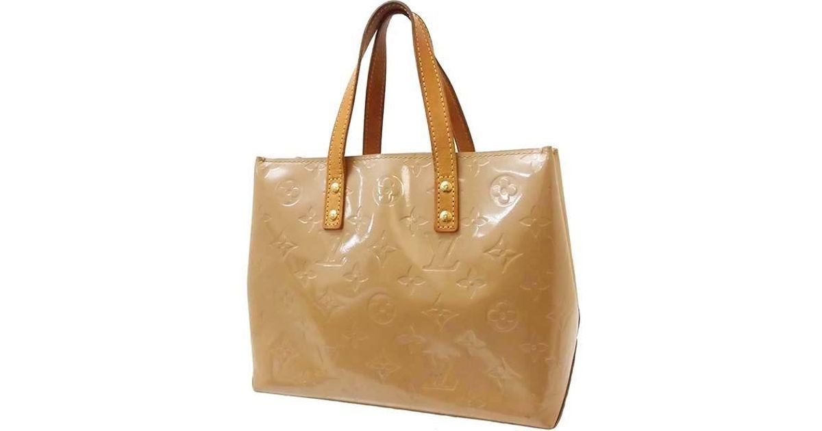d17d79bb9f Louis Vuitton Lead Pm Monogram Vernis Brown Hand Bag Women's [used] in  Brown - Lyst