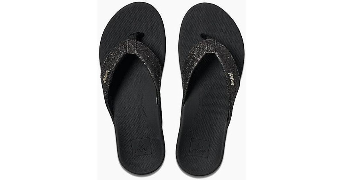 6119d14d6efc Lyst - Reef Ortho-spring in Black