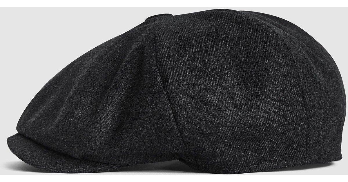 832aa9f7 Lyst - Reiss Edward - Christys' Baker Boy Cap for Men