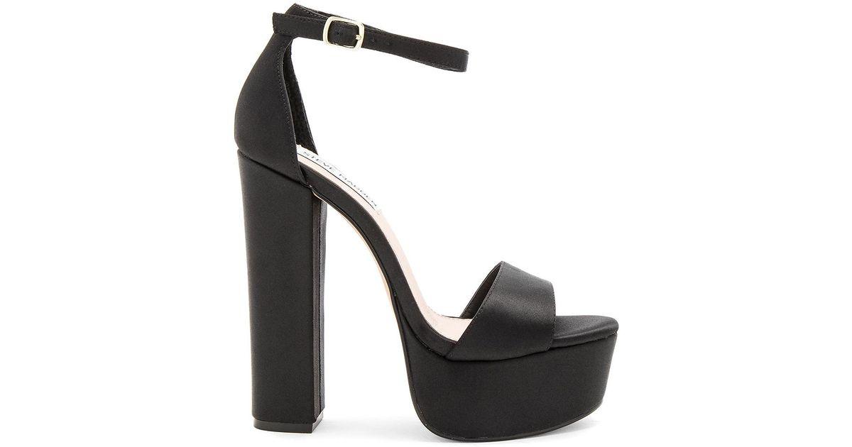 0f5ba2476df5 Steve Madden Gonzo Heel in Black - Lyst