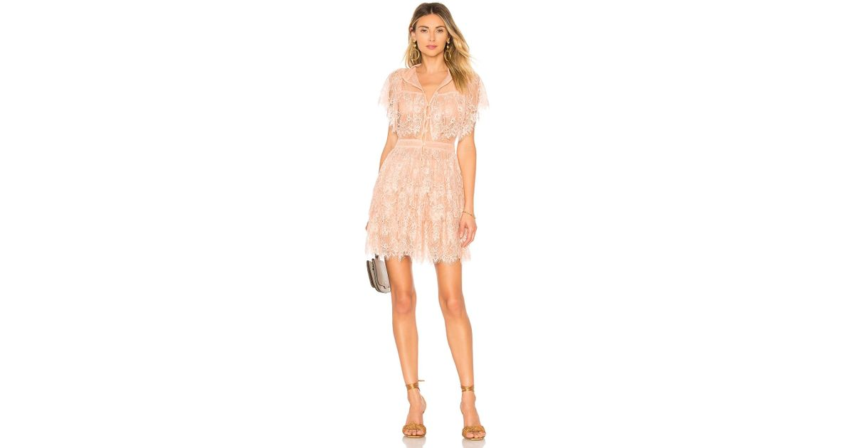 13373c8298f Lyst - House of Harlow 1960 X Revolve Louis Dress in Pink