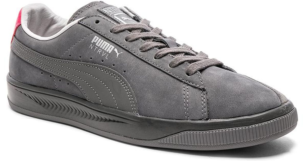4b8ee17d840e Lyst - Puma Select X Staple Suede Ignite in Gray