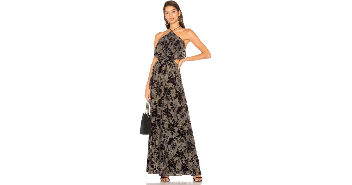 a98dd63bc62 Lyst - House of Harlow 1960 X Revolve Zoe Halter Maxi