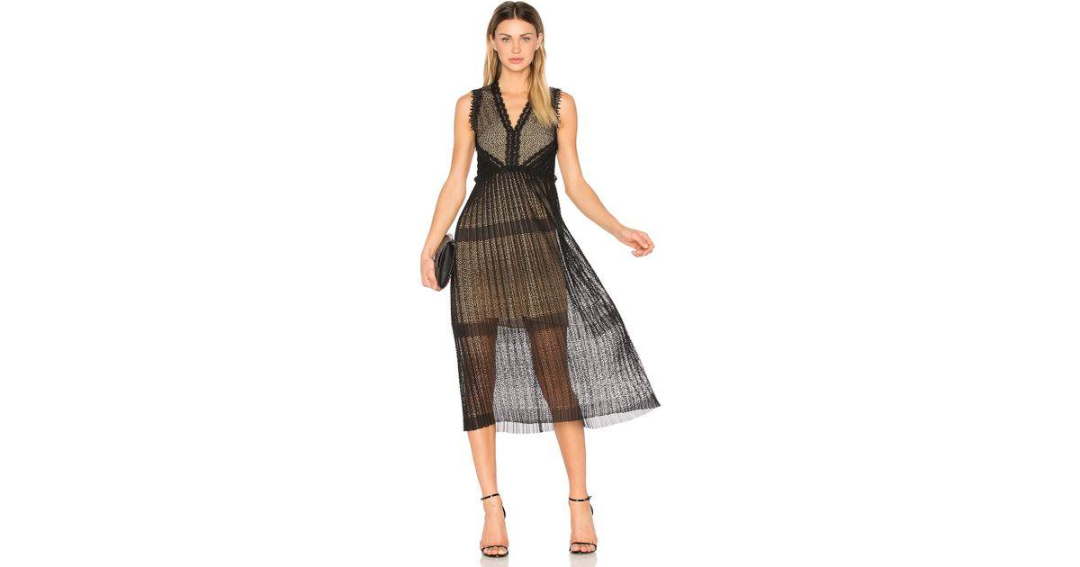Alexis Bryana Dress in Black - Lyst