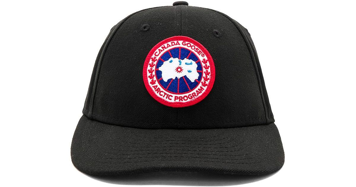 Lyst - Canada Goose New Era Core Cap in Black for Men e65d19804e73
