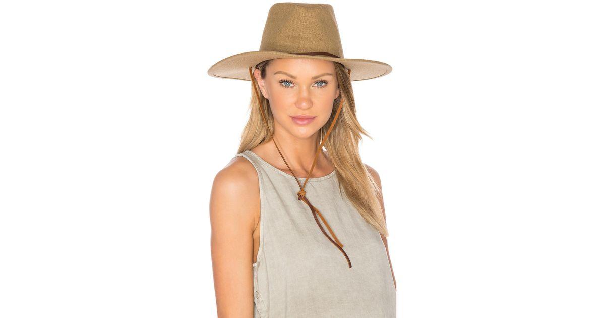 Brixton Ranger Ii Hat in Natural - Lyst 6d18e1b7804