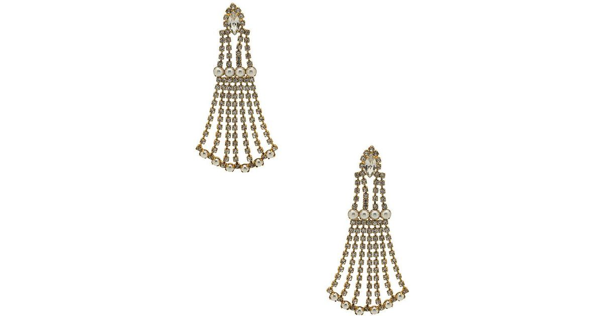 Peggy Earring in Gold Elizabeth Cole Sale Great Deals Free Shipping With Paypal Discounts Cheap Online YJpakZpZku