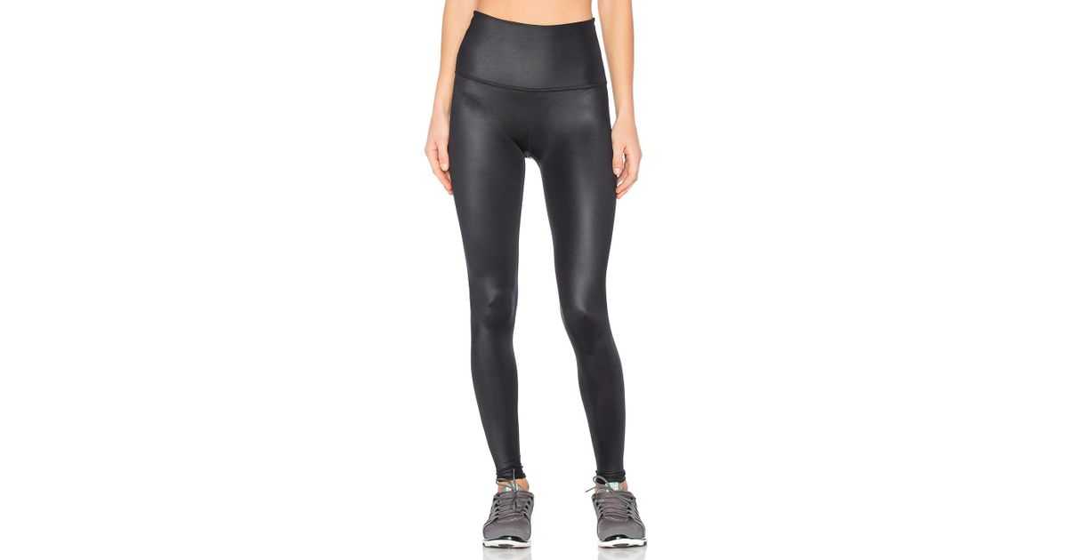 71f75f817e Beyond Yoga Gloss Over High Waist Legging in Black - Lyst