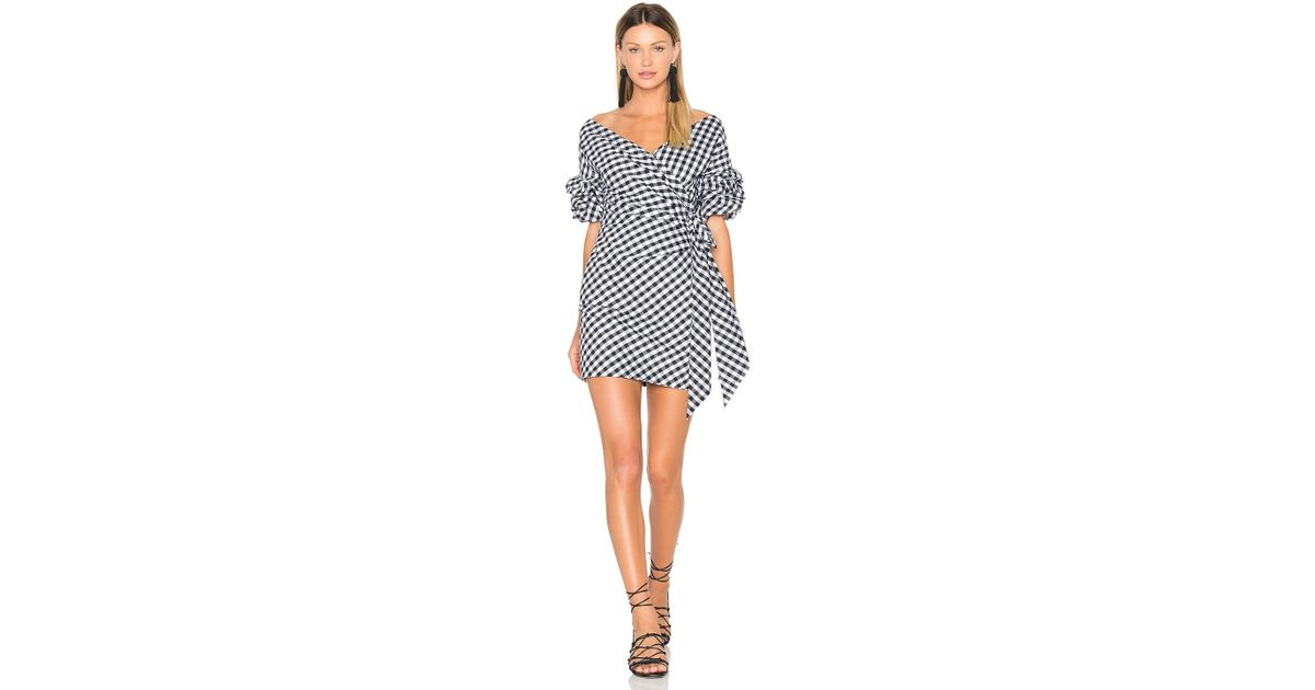 5ae227bf176 Lyst - Fame   Partners X Revolve Russo Mini Dress in Black