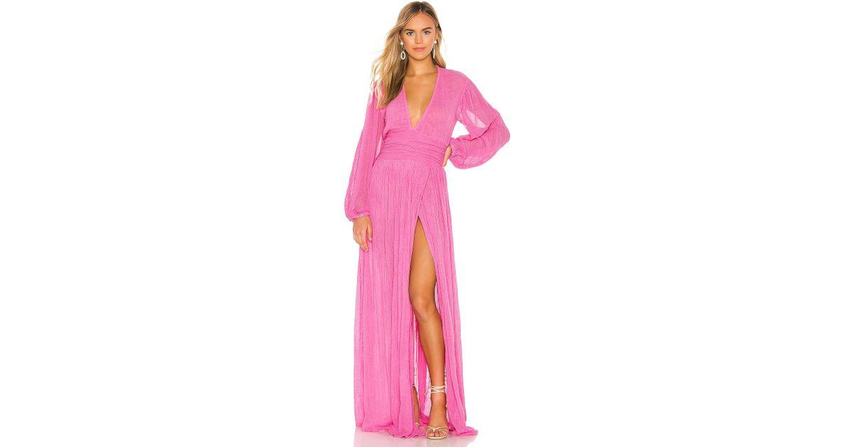 8b21c8a4a4 Jen's Pirate Booty Lapis Maxi Dress in Pink - Lyst