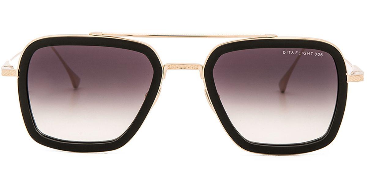 a2dc74a6247 Lyst - DITA Flight .006 Sunglasses in Gray